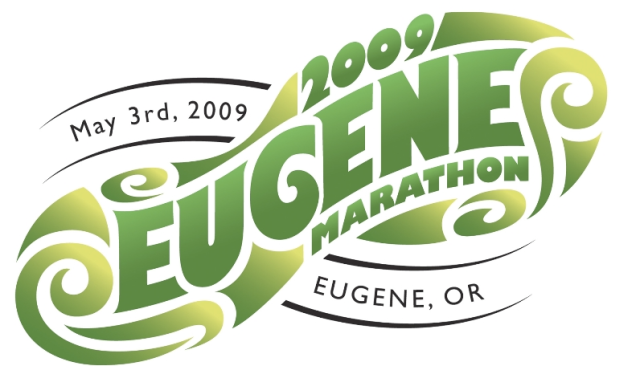 Eugene Marathon: May 3rd, 2009