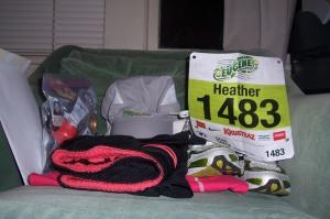 It takes a lot to run a marathon.